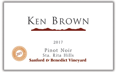 Pinot Noir label