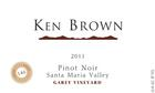 <PRE>2011 Garey Vineyard Pinot Noir</PRE>
