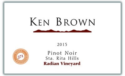 Product Image for 2015 Radian Vineyard Pinot Noir